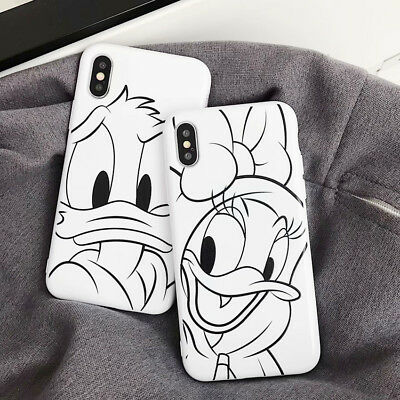 Line Disney Thicken Phone Case Cover Back For iPhone X XS Max XR 6 7 8 Plus