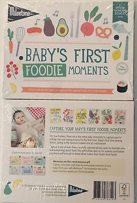 Baby's Milestones - Baby's First Foodie Moments - Photo cards