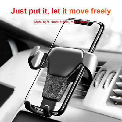 GPS Gravity Car Air Vent Mount Cradle Holder Stand For iPhone Mobile Cell Phone