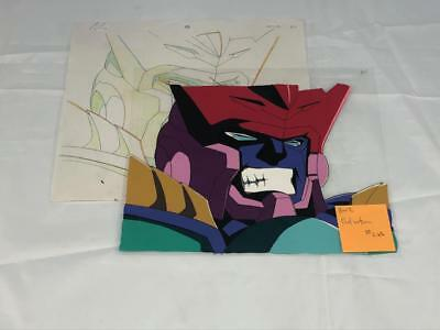 Transformers Japanese Beast Wars 2 Ii Galvatron Animation Art Cell Lot 286