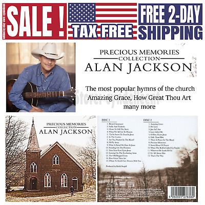 Alan Jackson Precious Memories Collection Church Hymns How Great Thou Art (2 CD)