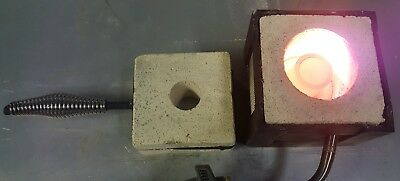 Gold-Silver Recovery Smelting Furnace 2150F Jewelry Casting Free USPS Shipping.