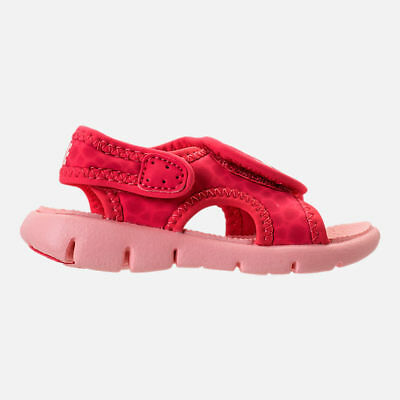 d2f9adcc939650 Girl s Toddler Nike Sunray Adjust 4 Sandals - Tropical Pink Bleached Coral  - 10C