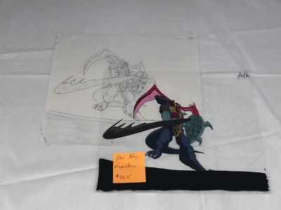 Transformers Japanese Beast Wars Neo Magmatron Animation Art Cell Lot 355