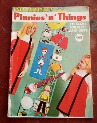ENID GILCHRIST'S~PINNIES 'n' THINGS~ Patterns for crafts. VINTAGE