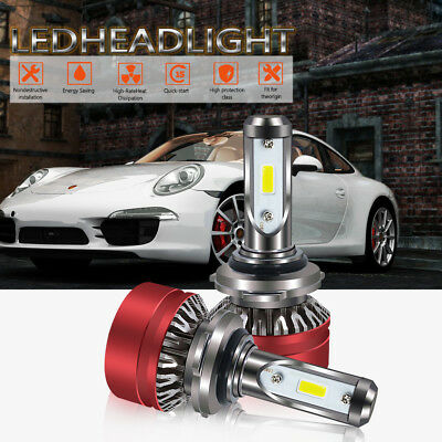 2018 9006 HB4 60W LED Bulb Headlight Kit Low Beam 6000K For 2010 Dodge Charger