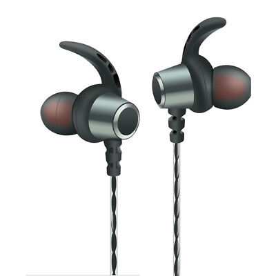 In-ear Metal Earphones Subwoofer Sports Line Control with Mic