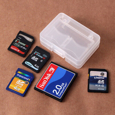 New Portable CF/SD Card Compact Memory Card Protecter Box Storage Case Holder