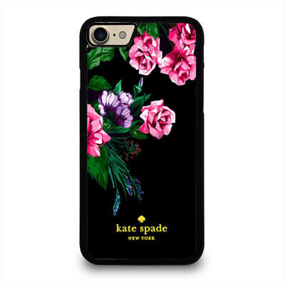RARE ITEMS  32KATE1SPADE-9FLOWERS Cover  iPhone And Samsung