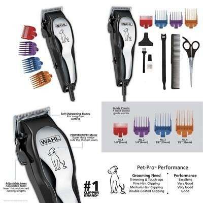 Wahl Clipper Pet-Pro Pet Clipper Dog Grooming Kit For Small/Large Dogs, Thick Co