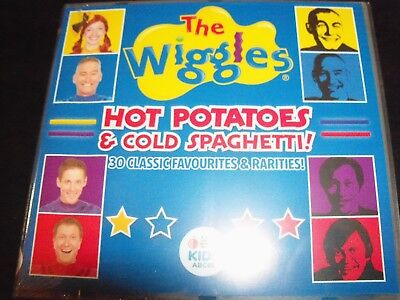 The Wiggles Hot Potatoes & Cold Spaghetti ABC Kids CD - New