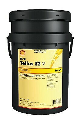 Shell 550044218 Tellus S2 V 15 20Ltr Industrial Fluid Hydraulic Wide Temperature