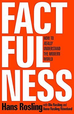Factfulness by Hans Rosling New Hardback Book