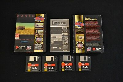 Dune 2 Battle For Arrakis Pc Dos Game Gioco Retrogame - Retrogame 1992 Westwood
