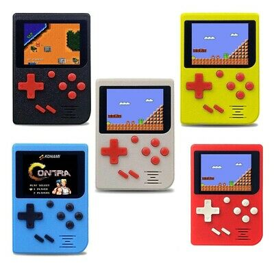 Console Portatile 8 Bit Retro' Display Lcd 129 Giochi Videogioco Simile Gameboy