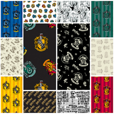 Harry Potter Fabric Material Cotton - **25 Designs**