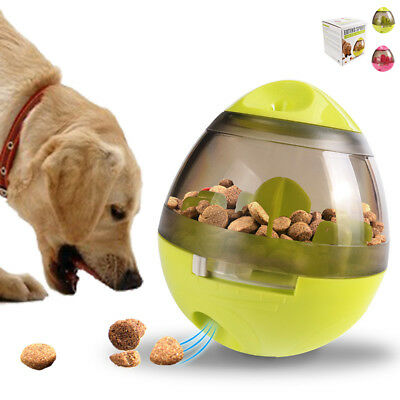 Smart Tumbler Maze Ball Interactive Food Dispenser Dog Pet Toy Feeder Playing