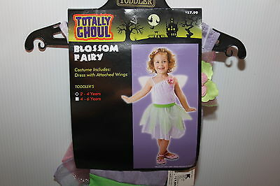 Blossom Fairy Halloween Costume New Dress Toddler 2 - 4 Totally Ghoul