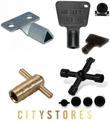 Meter Box Keys Brass And Plastic Triangle Key Electric Gas Meter Box