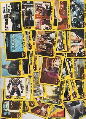Topps BATMAN series 2 48 different cards
