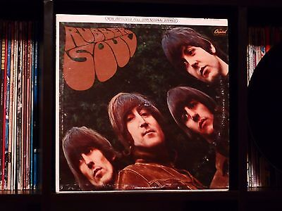 🔥 The Beatles ♫ Rubber Soul ♫ Rare Apple Records Early US Press Vinyl LP 🔥
