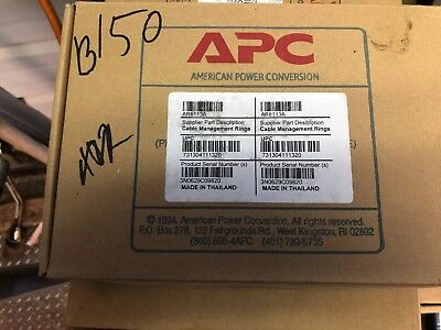 New Genuine APC AR8113A Cable Management Hoops