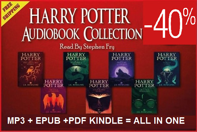 Harry Potter Collection read by Stephen Fry 1-7 ( PDF AUDIOBOOK EPUB KINDLE )