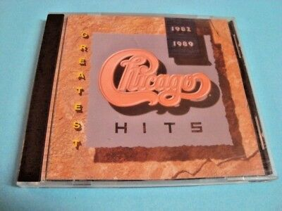 Greatest Hits 1982-1989 by Chicago (CD, 1989, Reprise) 9 26080-2 Original