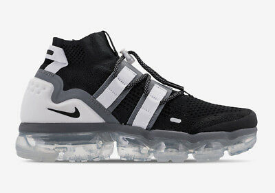 Nike Air Vapormax Flyknit Utility Black White Ah6834 003 Men's Size 7