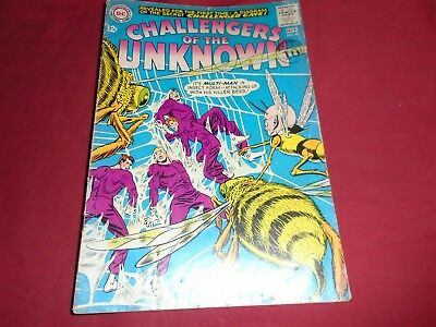 CHALLENGERS OF THE UNKNOWN #40 Silver Age DC Comics 1964 GD+