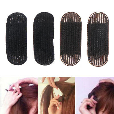 2Pc Pro Bump It Up Hair Insert Clip Utility Volume Back Beehive Tool Holder Set