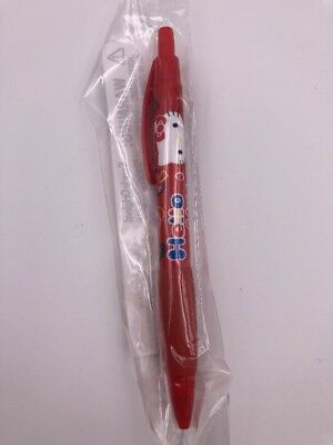 Sanrio Red Hello Kitty Ballpoint pen BLUE ink (L3)