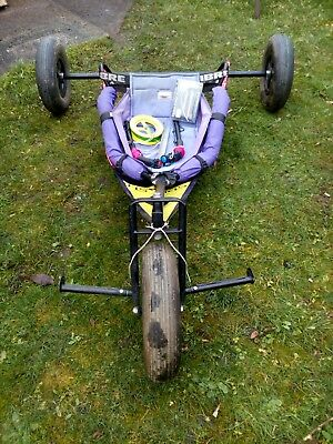 Kite Buggy, Kites with lines and handles. Full Kit.