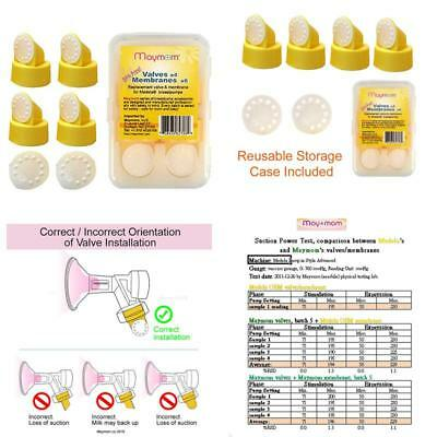 Valve And Membrane For Medela Breastpumps (Swing, Lactina, Pump In Style), 4X V