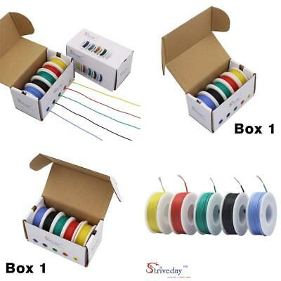 Striveday™ 30 Awg Flexible Silicone Wire Electric Wire 30 Gauge Coper Hook Up