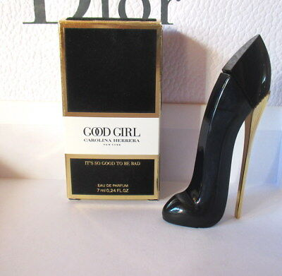 New 2018!! Miniature de Parfum GOOD GIRL CAROLINA HERRERA EDP 7ml