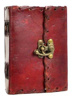 Small 1842 Poetry Leather Blank Book