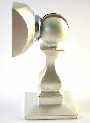 MX-4 Silver / Bright Chrome *MAGNETIC* Door Stop Holder Commercial Grade Quality