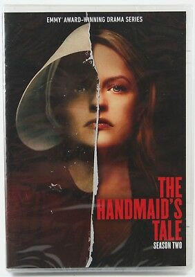 The Handmaid's Tale Season 2 DVD BRAND NEW Sealed Margaret Atwood Elisabeth Moss