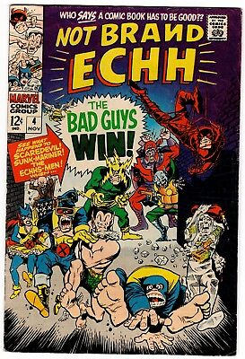 Not Brand Echh #4 (1967, Marvel), Silver Age, X-Men, COMBINED SHIPPING