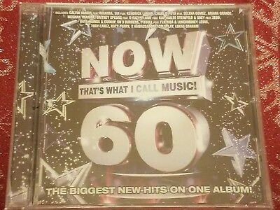 Now That's What I Call Music Vol. 60 New Factory Sealed Cd Free Shipping