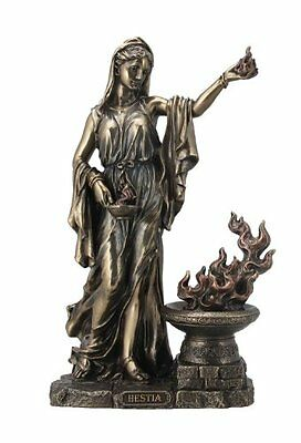 11.25 Inch Greek Goddess of the Hearth and Domesticity Hestia Statue Sculpture