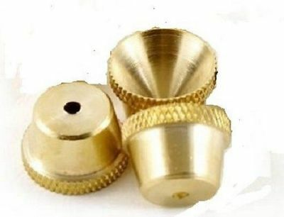 Cone Pieces 3 X Brass Bonza Cones with Free Shipping