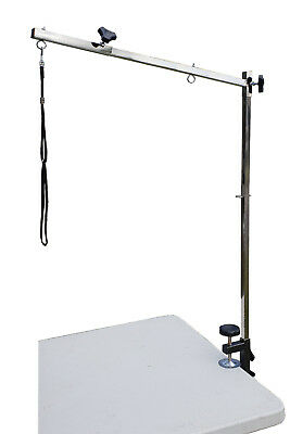 Dog Grooming Arm With Adjustable Reach