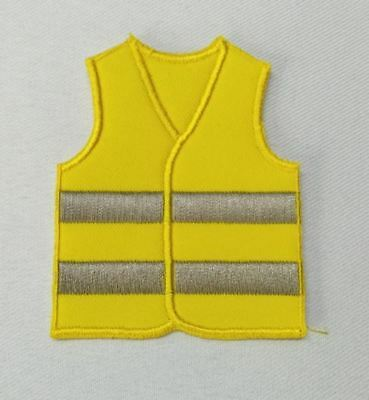Patch / Ecusson GILET JAUNE contestaion manif CGT FN FO macron taxes essence tva