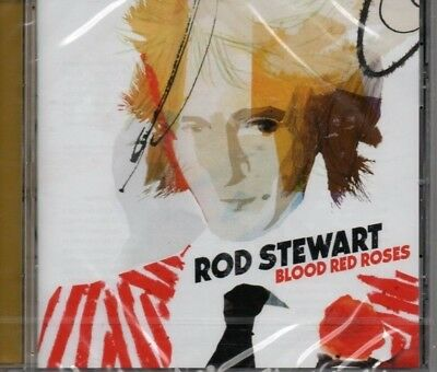 Rod Stewart - Blood Red Roses       *new & Sealed 2018 Cd Album*