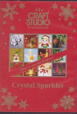 Crystal Sparkles - My Craft Studio Professional CD-Rom With E-Cards Feature