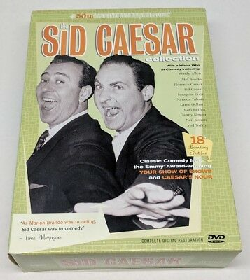 The Sid Caesar Collection 50th Anniversary Edition 3 DVD Box Set