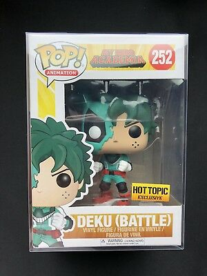 Mint/W Protector Funko Pop! Animation My Hero Academia Deku (BATTLE) HT EXC 252