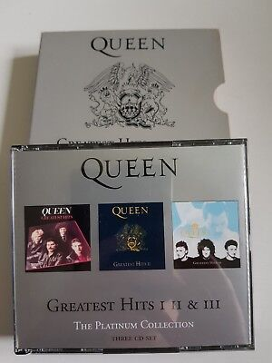 Queen - Greatest Hits I, II & III (The Platinum Collection) (3x CD Box Set 2000)